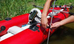 GPS электроякорь для лодки
