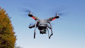 Квадрокоптер с GPS и камерой