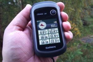 GPS навигатор туристический Garmin eTrex 30x