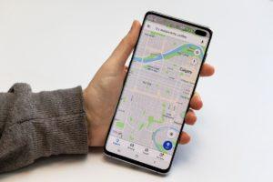 Google Maps навигатор для пешехода онлайн