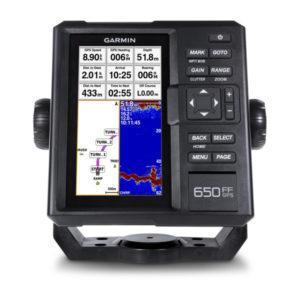 Морской навигатор Гармин FishFinger 650 GPS