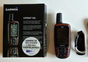 Навигатор для леса Garmin GPSMAP 64s