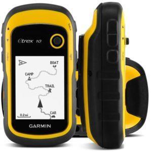 Навигатор GPS для охоты Garmin eTrex 10