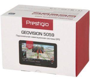 GPS навигатор для автомобиля Prestigio GeoVision 5059