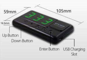 GPS спидометр для автомобиля