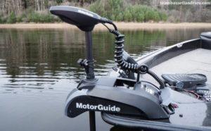 электрический якорь для лодки с gps